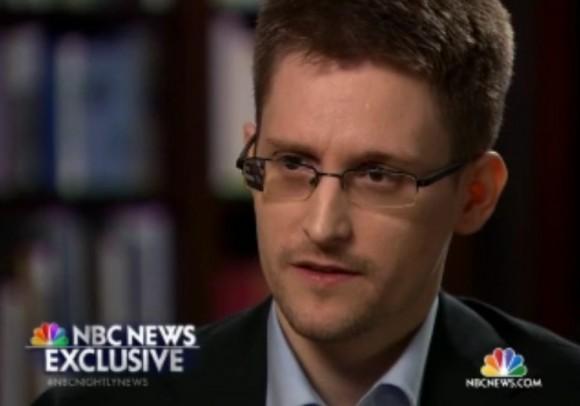 Edward Snowden im NBC-Interview (Screenshot: ZDNet.de)
