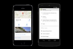 Offline-Nutzung von Google Maps (Bild: Google)