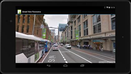 Google Play Dienste: Entwickler können nun auf Streetview-Fotos und Panoramabilder zugreifen und diese in eigene Apps einbauen (Bild: Google).