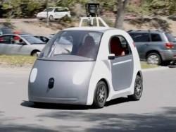 Googles Prototyp eines selbstlenkenden Autos (Bild: Google)