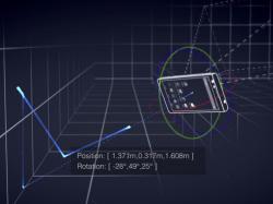 Mit Project Tango will Google Mobilgeräten ein für Menschen typisches Verständnis von Raum und Bewegung geben (Bild: Google).