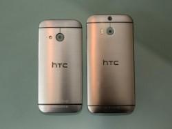 HTC One Mini 2 (links) und One M8 (Bild: CNET)
