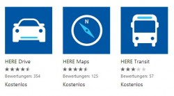 Windows-Phone-Apps von Nokia Here