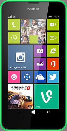 Nokia Lumia 630 (Bild: Microsoft)