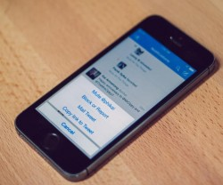 Stummschalten in Twitter für iOS (Bild: News.com)