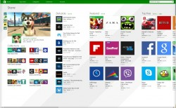 Neuer Windows 8.1 Store (Screenshot: CNET)