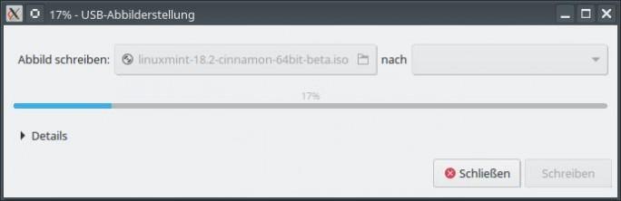 06 LM USB Abbild erstellen Bild: ZDNet.de)