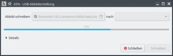 07 LM USB Abbild erstellen Bild: ZDNet.de)