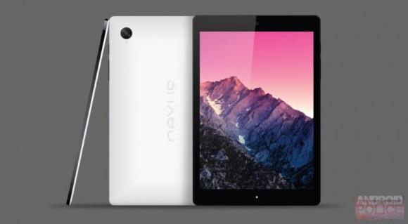 Das 8,9 Zoll große Nexus 9 könnte das in die Jahre gekommene 10-Zoll-Modell ablösen (Bild: Android Police)