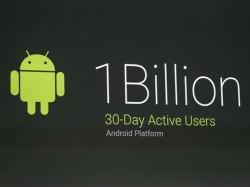 Android hat den Meilenstein von einer Milliarde monatlich aktiver Nutzer erreicht (Bild: James Martin/CNET).