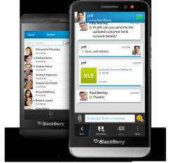 BBM Protected im Einsatz (Bild: Blackberry)