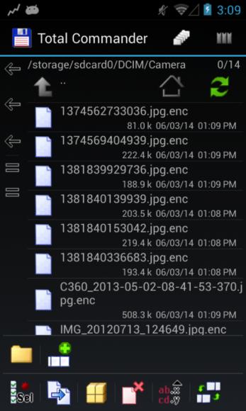 Der Android-Trojaner Simplocker verschlüsselt unter anderem auf der SD-Karte gespeicherte Fotos (Bild: Eset).