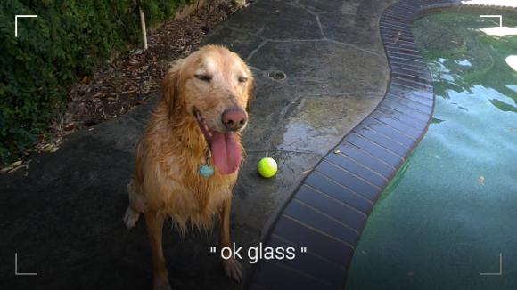 Der neue Kamerasucher von Google Glass (Bild: Google)
