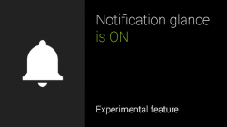 Glass-Update: Benachrichtigungen mit dem Blick aufrufen (Screenshot: Google)