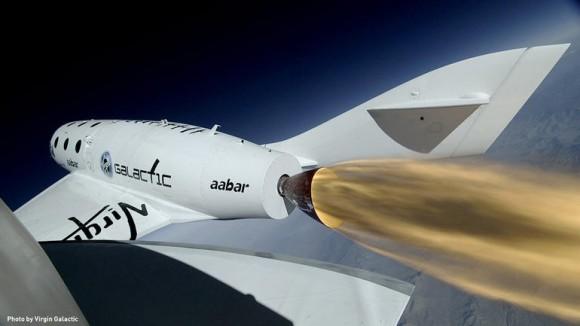 Virgin Galactic will sub-orbitale Raumflüge für Weltraumtouristen und wissenschaftliche Missionen ermöglichen (Bild: Virgin Galactic).