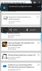 Heads-up-Benachrichtigungen (Screenshot: ZDNet.de)