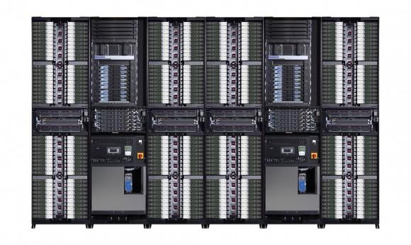 Das HPC-System Apollo 8000 ist vollständig wassergekühlt (Bild: HP).