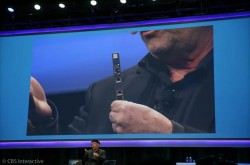 Mooly Eden hat die RealSense-Kamera auf der CES 2014 vorgestellt (Bild: News.com).