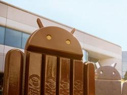Android 4.4 KitKat ist inzwischen an Ice Cream Sandwich vorbeigezogen (Bild: Google).