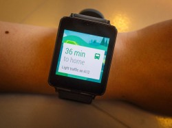 LG G Watch mit Android Wear (Bild: CNET.com)