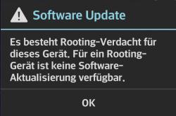 LG: keine Updates bei Rooting