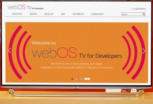 Das neue WebOS-SDK erlaubt Entwicklern, Anwendungen für die Plattform zu erstellen (Bild: LG)
