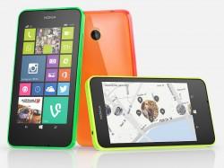 Das Lumia 635 ist hierzulande das erste verfügbare Windows-Phone-8.1-Modell mit LTE (Bild: Microsoft).
