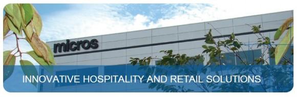 Micros präsentiert sich auf seiner Website als Anbieter von innovativen Lösungen für Hotel- und Gastgewerbe sowie den Handel (Screenshot: ZDNet).