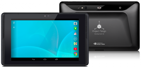 2015 soll es von LG eine Consumer-Version des Project-Tango-Tablets geben (Bild: Google).