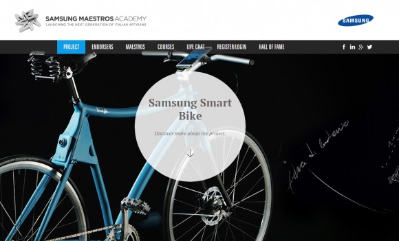 Samsung Smart Bike (Screenshot: ZDNet)