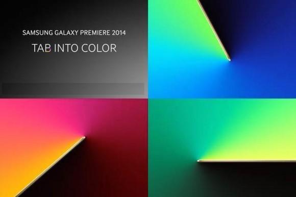 """Samsung hat unter dem Motto """"Tab into Color"""" zu einer Produktvorstellung nach New York eingeladen (Bild: Samsung)."""