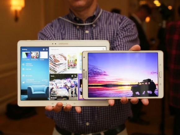 Das Galaxy Tab S ist Apples iPad in vielen Bereichen überlegen (Bild: CNET.com)