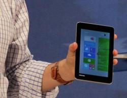 7-Zoll-Windows-Tablet von Toshiba (Bild: News.com)
