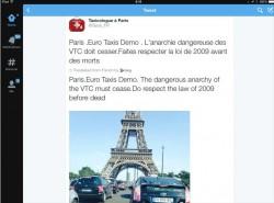 Übersetzungsversuch Französisch-Englisch auf dem iPad (Screenshot:  News.com)