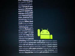 Android L (Bild: James Martin/CNET)