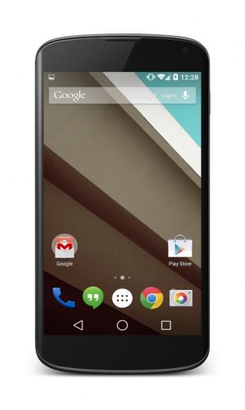 Android L steht für das Nexus 4 zur Verfügung