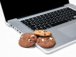 Cookies auf einem Computer (Bild: Shutterstock-Michael H Reed)