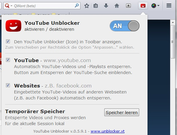 Firefox proxy unblocker