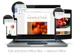 Google Docs erlaubt die Bearbeitung und Weitergabe von Office-Dokumenten ohne Office (Bild: Google).