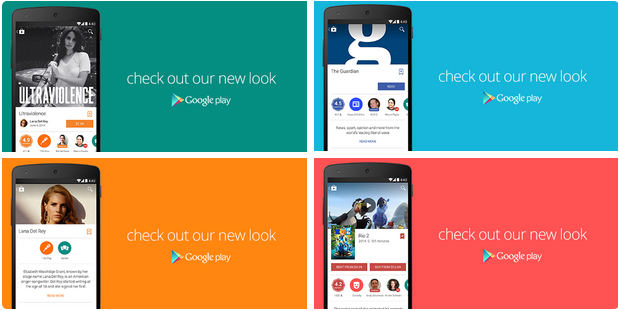 Goole Play App im Material Design (Screenshot: Google)