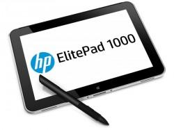Mit dem ElitePad 1000 G2 hat HP im März eines der ersten 64-Bit-Windows-Tablets vorgestellt (Bild: HP)