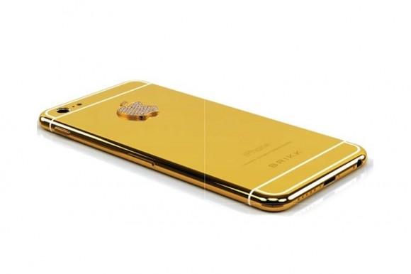 Lux-Ausführung des iPhone 6 zum Preis von rund 8400 Dollar (Bild: Brikk)