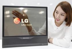 Das transparente OLED-Panel weist eine dreißigprozentige Durchlässigkeit auf (Bild: LG).