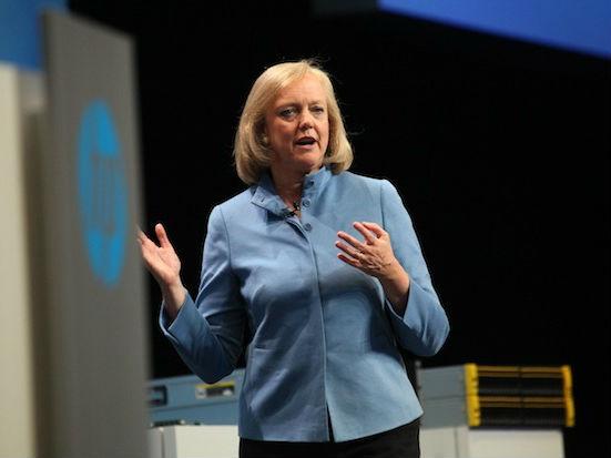 HP-CEO Meg Whitman (Bild: CNET)