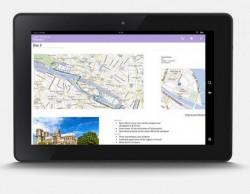 OneNote auf dem Kindle Fire HDX (Bild: Microsoft)