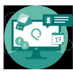 Die Relationship Intelligence Platform von RelateIQ führt unter anderem Sales-Daten aus E-Mails, Kalendern und Sozialen Netzen zusammen (Bild: RelatedIQ).