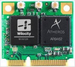 Funkmodul mit Wilocity- und Qualcomm-Atheros-Chip (Bild: Wilocity)