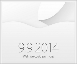 Einladung für den 9. 9. 2014 (Bild: Apple)