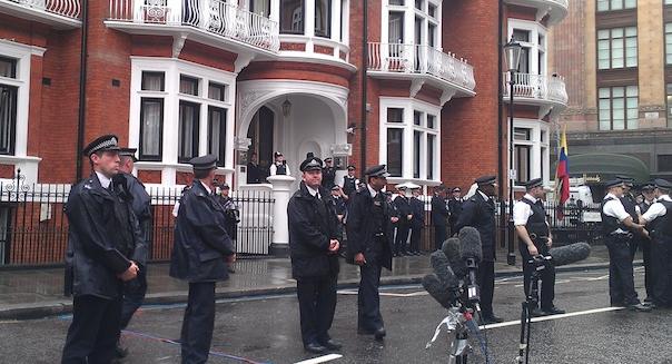 Die Botschaft von Ecuador in London (Bild: ZDNet.com)