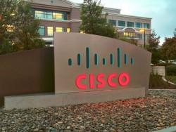 Firmenschild vor der Cisco-Zentrale in San Jose (Bild: Cisco)
